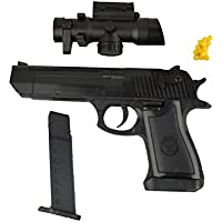 141458 Pistola de juguete con objetivo 1823-87 con balines incluidos