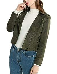 beste Sammlung moderate Kosten neue bilder von Suchergebnis auf Amazon.de für: Grüne Lederjacke - Damen ...