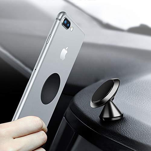 Handyhalterung Auto Magnet , otutun Auto Magnet Handyhalter 360 Grad Einstellbare Smartphone Halterung Universal KFZ Halterung Magnet für iPhone, Samsung, Huawei, Nexus, HTC, LG