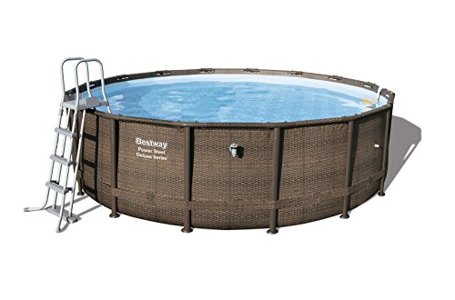 Bestway Kit Piscine Power Steel Deluxe Series 488 x...