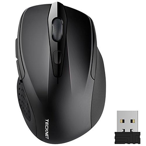 tecknet-pro-mouse-senza-fili-2600dpi-durata-delle-batterie-di-24-mesi-24g