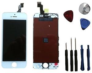 Ersatz LCD für Apple iPhone 5 C weiss für Apple iphone, Neu Ersatz Display, top Qualität Glas Touchscreen