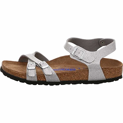 men Sandalen Magic Galaxy Silver, EU 36 (Galaxy Schnürsenkel)