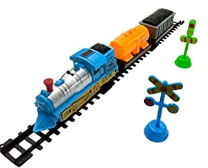 Humaira Toys Train World Play Set With Tracks Toy
