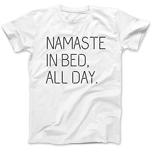 namaste-in-bed-buddhism-t-shirt-100-premium-cotton