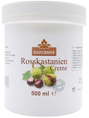 Rosskastanien Creme 500ml Hautpflegecreme von Naturhof