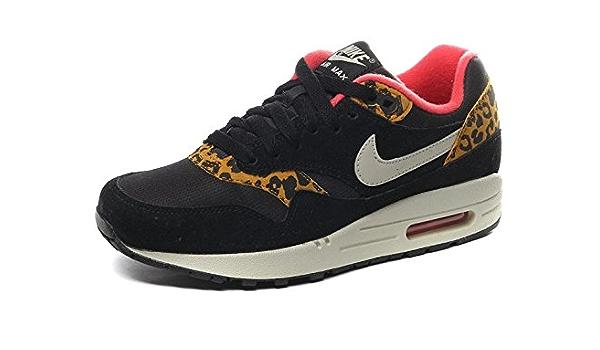 repertorio Días laborables Perspicaz  Nike Air MAX 87 Leopard UK4, 5 Black: Amazon.co.uk: Shoes & Bags