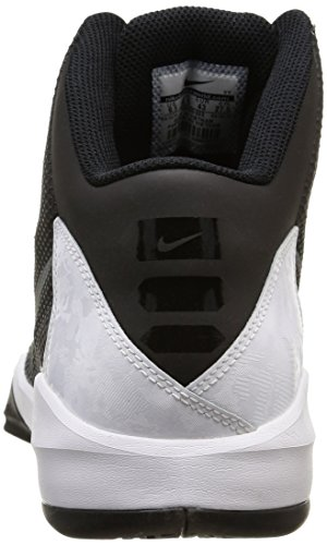 Nike  Zoom Without A Doubt, espadrilles de basket-ball homme Noir - (Black/Metallic Silver/Flat Silver/Chrome)