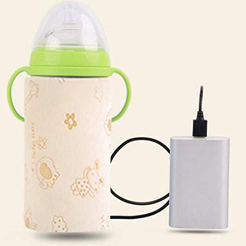 Biberón del coche, Calentador de viaje de agua de la leche del bebé de calefacción Bolso de la botella...