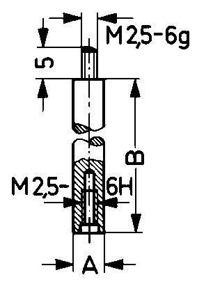 Preisvergleich Produktbild Verlängerungsstück 70mm Käfer