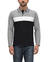 ALX New York Mens Cotton Polo T-shirt_ALX-CK-1417_Navy