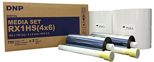 DNP Media Set RX1 - Thermopapier für Drucker DS-RX1 - 10 x 15 cm - 700 x 2 Kopien