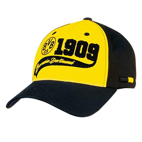 Borussia Dortmund Cap (one Size, gelb/schwarz)