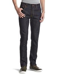 Jeans Thin Finn Organic Dry Ecru Embossed Nudie