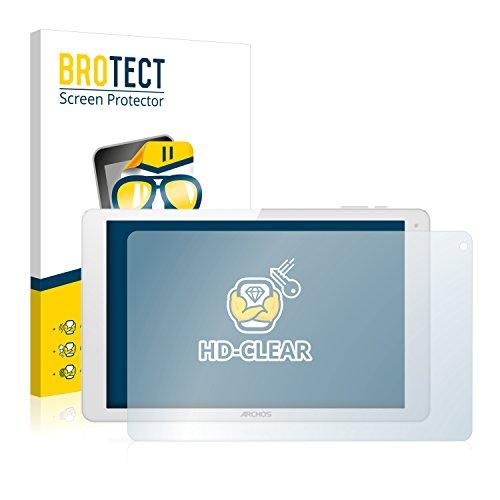 BROTECT Schutzfolie kompatibel mit Archos 101b Xenon [2er Pack] klare Bildschirmschutz-Folie