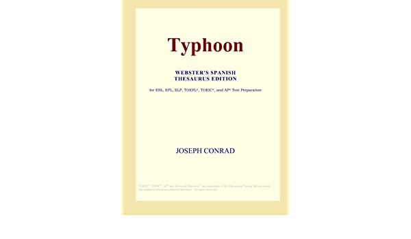 Buy Typhoon (Webster\'s Spanish Thesaurus Edition) Book Online at Low ...