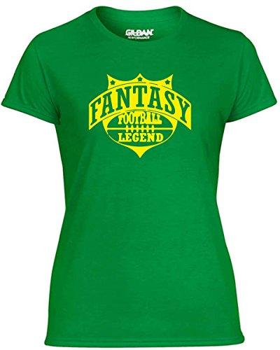T-Shirtshock - T-shirt Frauen WC1207 Fantasy Football Legend Maglietta, Größe L (T-shirt Legend Football Fantasy)