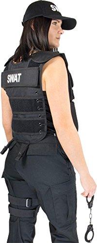 Frauen Kostüm Swat - normani Damenkostüm Fasching oder Karneval Kostüm für Frauen im SWAT oder Police Style - Kostümfest Farbe SWAT Größe M/L