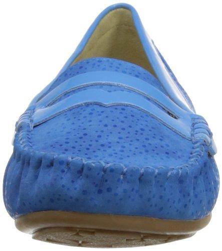 Lunar Flc404, Mocassins femme Bleu
