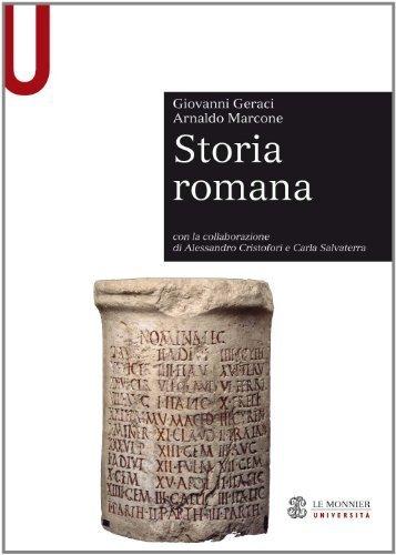 Storia romana (Le Monnier universit. Sintesi) di Geraci, Giovanni (2011) Tapa blanda