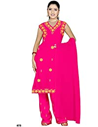 Pink Salwar Kameez / Punjabi Größe M
