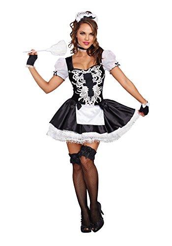 Dreamgirl 10218French Kisses Kostüm (Mittel)