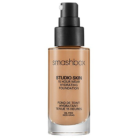 Smashbox Studio Skin 15 Hour Wear Hydrating Foundation Fluid Ounce Ohrstöpsel 18 centimeters Schwarz (Black)