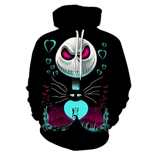 Linnhorr Halloween Hoodies 3D Sweatshirts Männer Frauen Trainingsanzüge Neue Kapuzenpullover Drop Ship Hoodie Picture Color 4XL