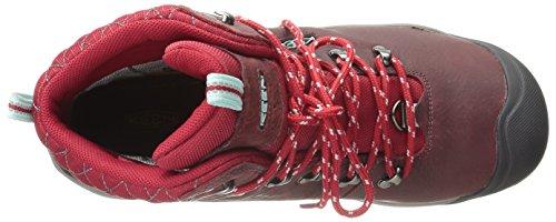 Keen Revel Iii, Chaussures de Randonnée Hautes Femme Rouge (Racing Red/eggshell)