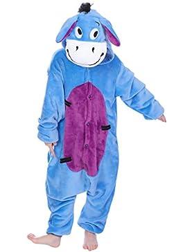 [Sponsorizzato]Dolamen Bambini Unisex Kigurumi Pigiama Onesie, Ragazza Ragazzo Anime Cosplay Halloween Natale Party Costume Attrezzatura...
