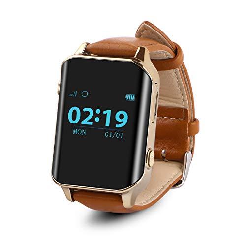 Smartwatch Anciano SOS Impermeable GPS Reloj Inteligente