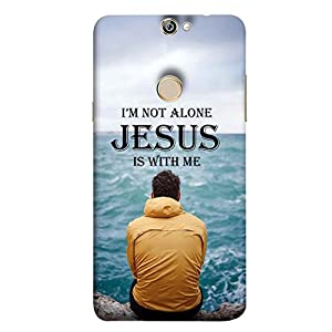 YuBingo Designer Phone Back Case Cover Coolpad Max A8 ( Jesus is with Me )
