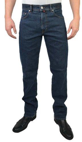 Pierre Cardin -  Jeans  - Uomo Nero blu 30 W/34 L