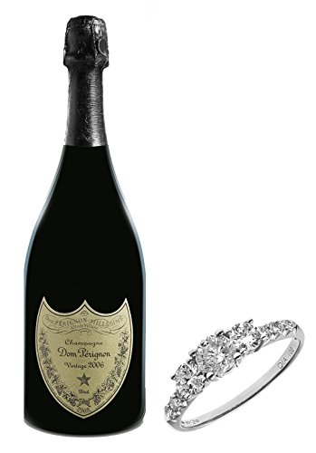dom-perignon-vintage-champagne-and-naava-18ct-white-gold-trilogy-engagement-ring