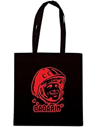 T-Shirtshock - Bolsa para la compra TCO0029 yuri gagarin cccp comunismo