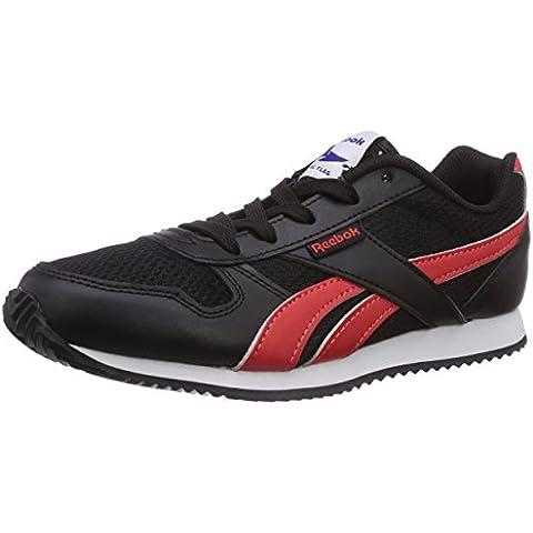 Reebok Royal Cljogger - Zapatillas para hombre, color negro / rojo / blanco