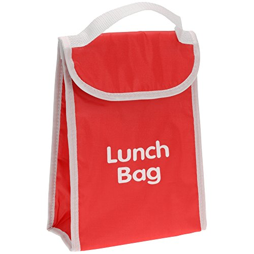 Promobo - Lunch Bag Isotherme Sac Panier Repas Goûter 4L Rouge
