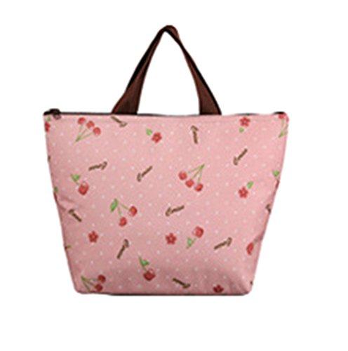 Sentao Portable Bunte Blumen Muster Lunchtasche Thermotasche Kühltasche Lunch Tote (34*12*22cm) Stil 4
