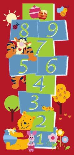 Associated Weavers W36 Disney Winnie The Pooh Hopscotch Teppich 95x200 -