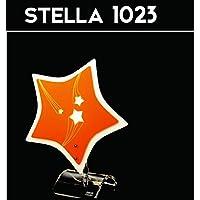 GRG® Lampada da tavolo mod. STELLA - Lampada da tavolo in acrilico e finiture di pregio dal Design Moderno, Made in Italy lavorato a mano, attacco 1X E14 max 40W, vari colori.