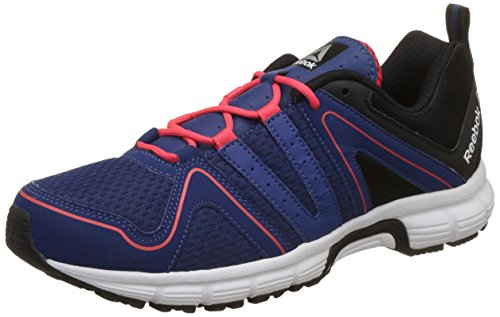 Reebok Men's Performance Run Club Blue/Blk/Red/Silver Running Shoes - 6 UK/India (39 EU)(7 US)