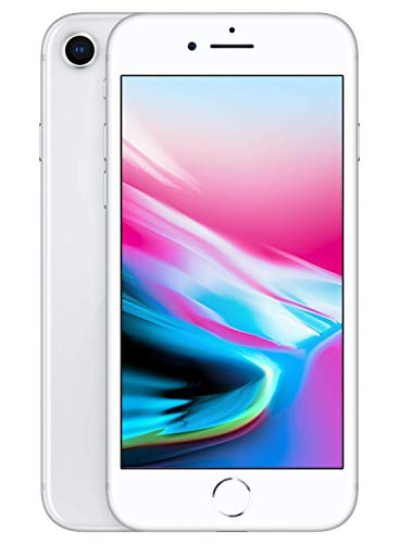 "Apple iPhone 8 - Smartphone de 4.7"" (256 GB), Color Plata"