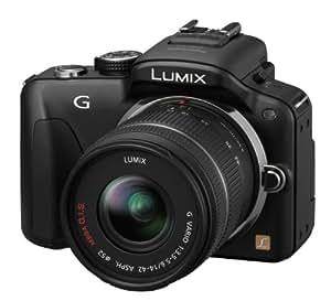 Panasonic Lumix G3 16.1MP Compact System Camera Kit - Black with 14-42mm Lumix G VARIO f/3.5-5.6 ASPH MEGA OIS Lens