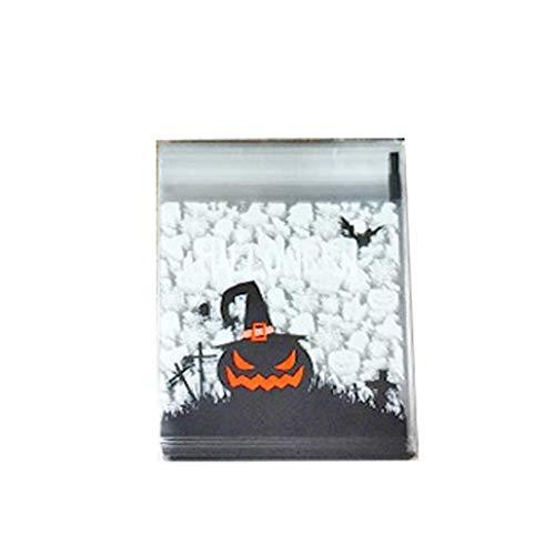 Hausgemachte Halloween Behandeln Tasche - Self Adhesive Candy Bag Halloween Löschen