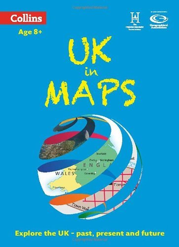UK in Maps (Collins Primary Atlases) by Stephen Scoffham (2014-02-13)