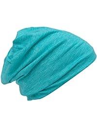 Cool4 Sommer Beanie Jeansblau Blau Vintage Baumwolle Slouch Beanies SB06