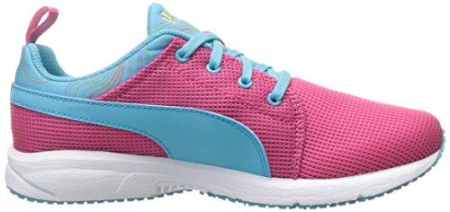 Puma Carson Runner Marble Jr Synthétique Baskets Fandago Pink-Blue Atoll