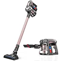 Proscenic P8 Plus Cordless Vacuum Cleaner, 15000Pa Handheld Stick Vacuum Cleaner with Wall Mount and HEPA Filtration, Battery Removable, Two Speeds Suction Power, 35 Minutes Use Time
