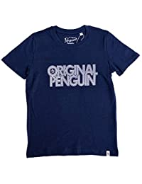 4d50044b7c8 Original Penguin Penguin T-Shirt Garçon Marine 7-8Y 8-9Y 10-