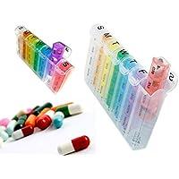 7Tage Pop Up offen Weekly Pille Box 4mal Pro Tag Morgens, mittags, abends und Bedtime Medizin Tablet Organizer-Spender... preisvergleich bei billige-tabletten.eu